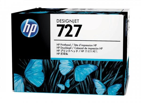 HP 727 Druckkopf Schwarz und Farbe für DesignJet T920 T1500 T2500 B3P06A