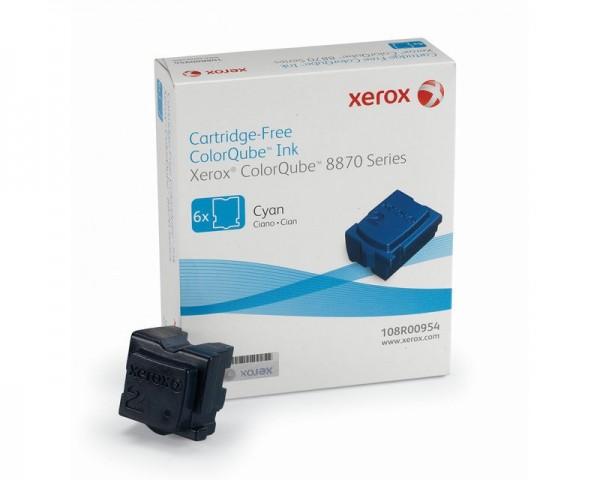 XEROX ColorQube 8870 Festtinte STIX 6 Cyan Solid Ink