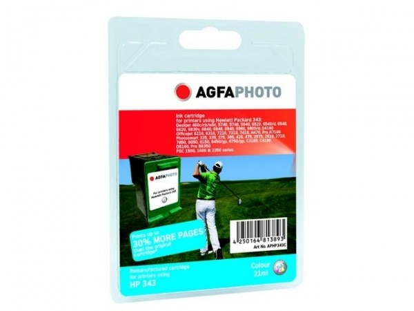 AGFAPHOTO HP343C HP DJ5740 Tinte Color