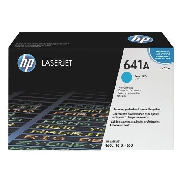 HP Druckkassette 641A cyan für Color LaserJet 4600 4610 4650