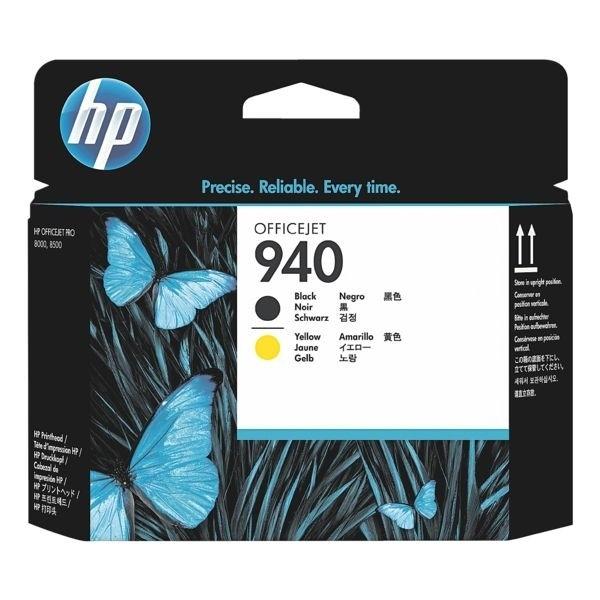 HP 940 Druckkopf Yellow + Black für OfficeJet Pro 8000 Pro 8500
