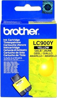 Brother Tintenpatrone Yellow LC900Y