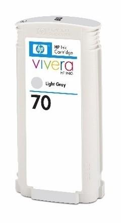 HP 70 Tinte light grau Z2100 Z3100 Z5200 HP Vivera Tinte C9451A