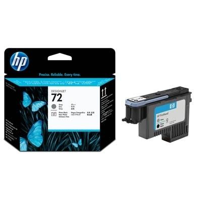 HP 72 Druckkopf grau +Fotoschwarz für DJ T700 T1100 T1200 T2300 C9380A