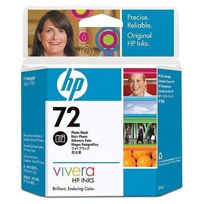HP 72 Tinte Fotoschwarz für DesignJet T1100 T1200 C9397A