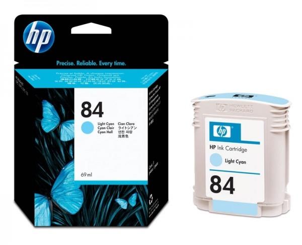 HP 84 Tintenpatrone cyan hell C5017A