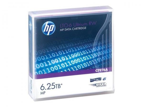HP LTO Ultrium 6 Data Cartridge 6.25TB