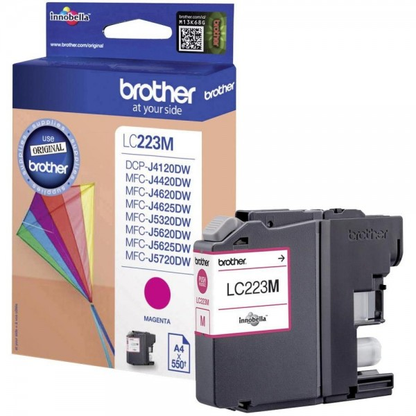 Brother LC-223M Tinte Magenta Original MFC-J4620DW MFC-J5720DW