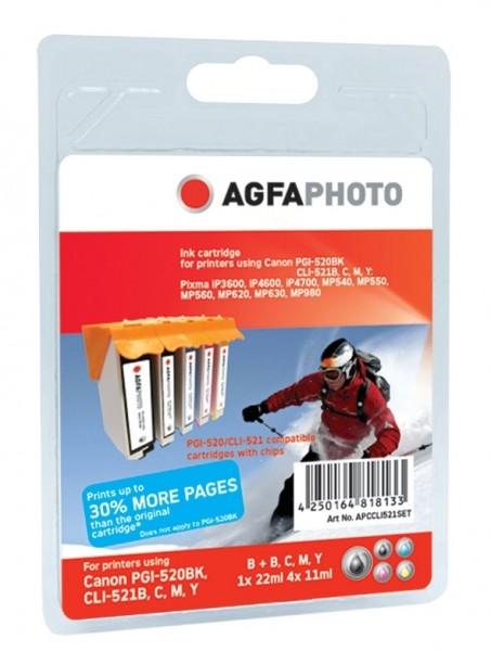 AGFAPHOTO CCLI521SET Canon MP450 SET