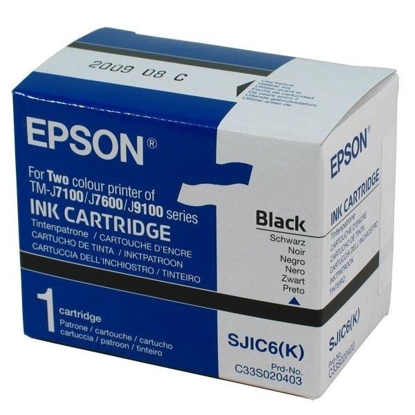 Epson SJIC6(K)-TINTENPATRONE FÜR TM-J7100 BLACK