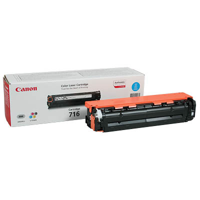 Canon 716 Toner Cartridge EP716 Cyan LBP5050 MF8030CN MF8040CN MF8050CN
