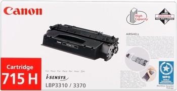 Canon Cartridge 715H Black 1976B002 LBP 3310, LBP 3370