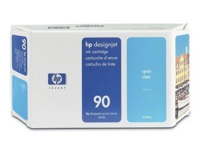 HP 90 Tinte Cyan 225ml für DesignJet 4000 4500 4020 4520