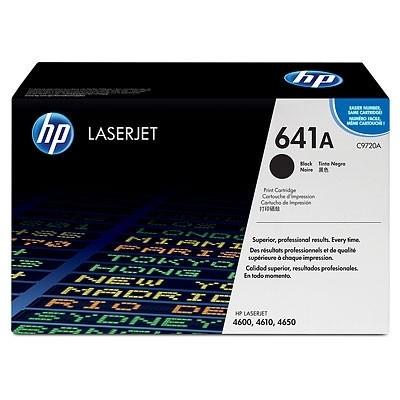 HP Druckkassette 641A schwarz für Color LaserJet 4600 4610 4650