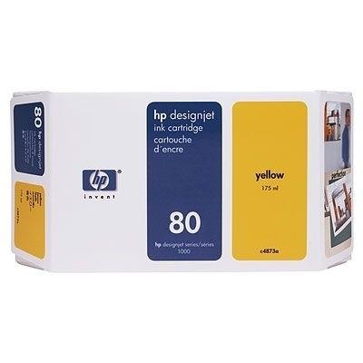 HP 80 Tinte Yellow für DesignJet 1050C 1055CM