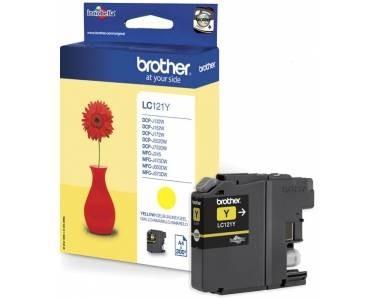 Brother Tintenpatrone Yellow LC121Y MFC-J6510DW MFC-J6710DW MFC-J6910DW DCP-J725DW