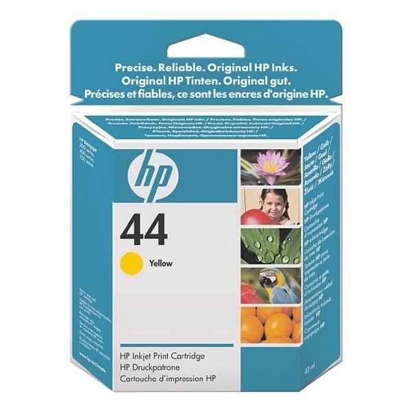 HP 44 Tinte Yellow für DesignJet 350C 450C 455CA 488CA 700 750 755