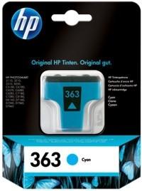 HP 363 Tintenpatrone cyan PS8250