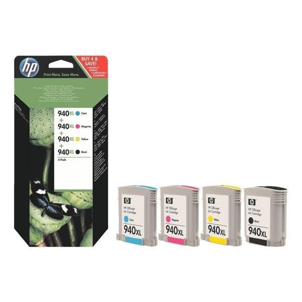 HP 940 XL Tinte 4er Pack für HP OfficeJet Pro 8000 8500
