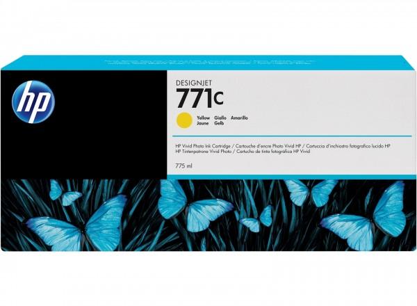 HP 771C Tinte yellow Z6200 Z6600 Z6800 - B6Y10A