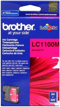 Brother Tintenpatrone Magenta LC1100M