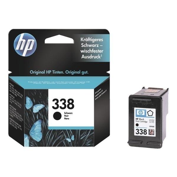 HP Druckpatrone schwarz No.338 für Officejet 7310/7410 DesignJet 5740