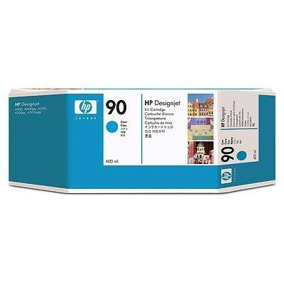 HP 90 Tinte Cyan 400ml für DesignJet 4000 4500 4020 4520
