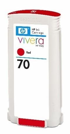 HP 70 Tinte red Z2100 Z3100 Z5200 HP Vivera Tinte C9456A
