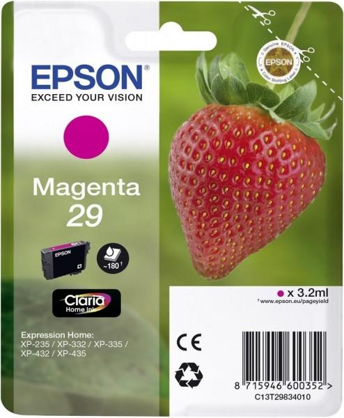 Epson Tinte Erdbeere 29 Magenta Claria Home Singlepack
