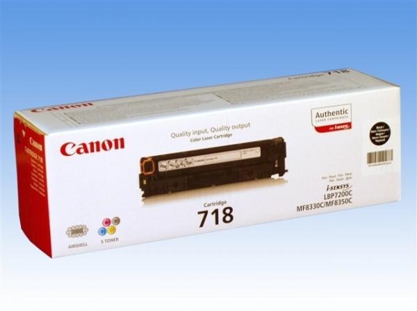 Canon 718 Cartridge Black 2662B002 LBP 7200 MF8350