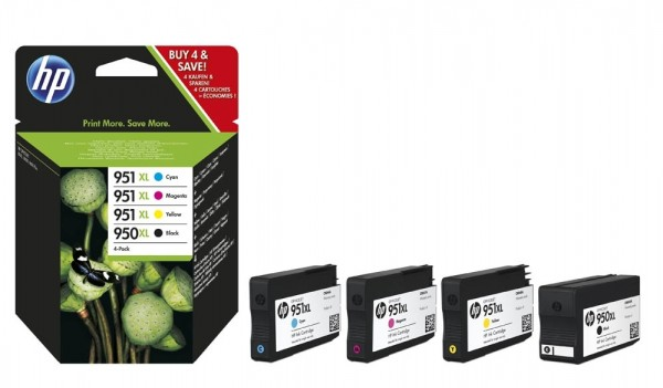 HP 950XL 951XL Tinte Multipack Pro8100 Pro8600 Serie Combo