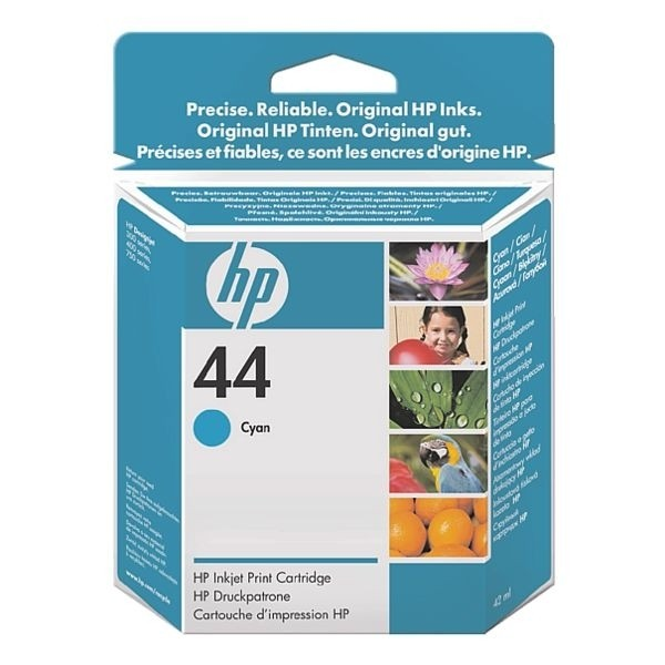 HP 44 Tinte Cyan für DesignJet 350C 450C 455CA 488CA 700 750 755