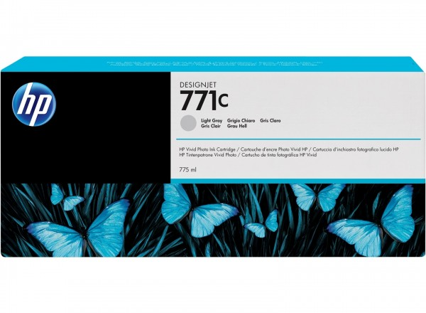 HP 771C Tinte light grey Z6200 Z6600 Z6800 - B6Y14A