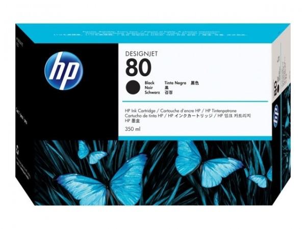 HP 80 Tinte Black für DesignJet 1050C 1055CM