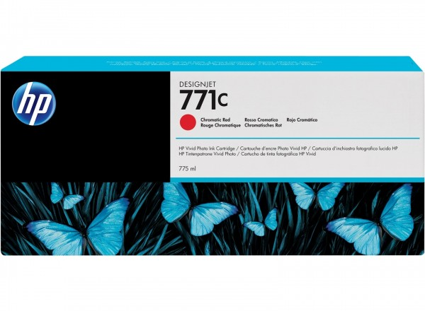 HP 771C Tinte chromatic red Z6200 Z6600 Z6800 - B6Y08A