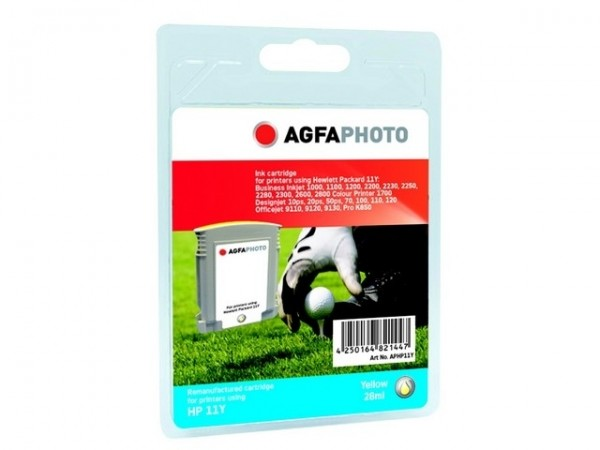 AGFAPHOTO HP11Y HP BJ1100 Tinte Yellow