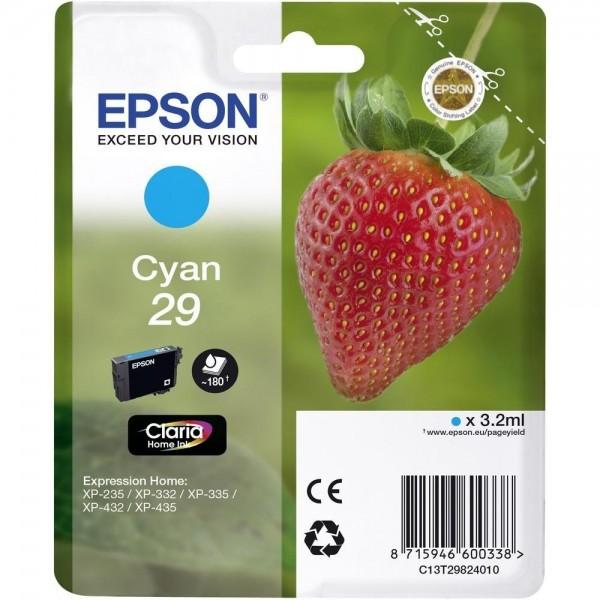 Epson Tinte Erdbeere 29 Cyan Claria Home Singlepack