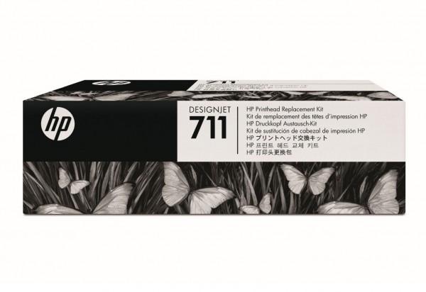 HP 711 Original Druckkopf Replacement Kit T120 T520 C1Q10A