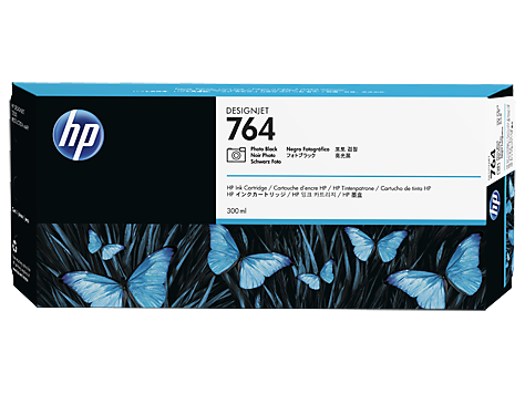HP 764 Tinte schwarz DesignJet T3500