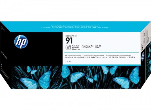 HP 91 Tinte Foto Schwarz für DesignJet Z6100
