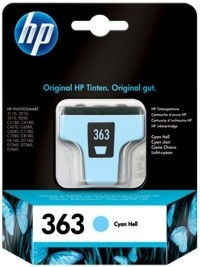 HP 363 Tintenpatrone light cyan PS8250