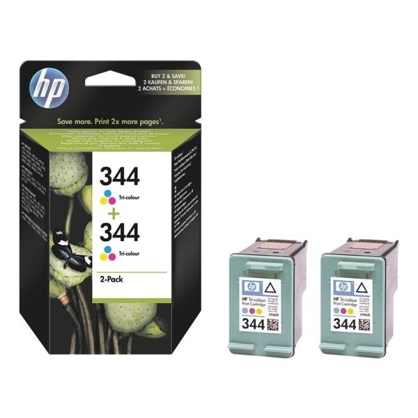 HP 344 Farbpatrone Doppelpack für Photosmart 2575 Photosmart C1510