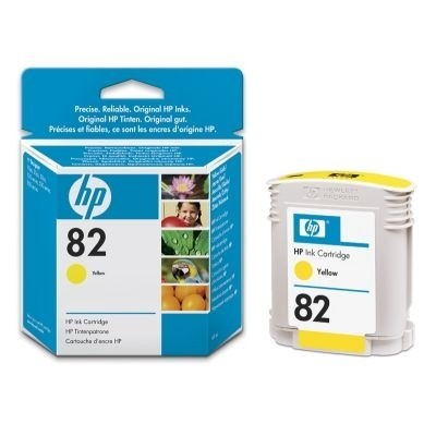 HP 82 Tinte Yellow No.82 DesignJet 500 DNJ800