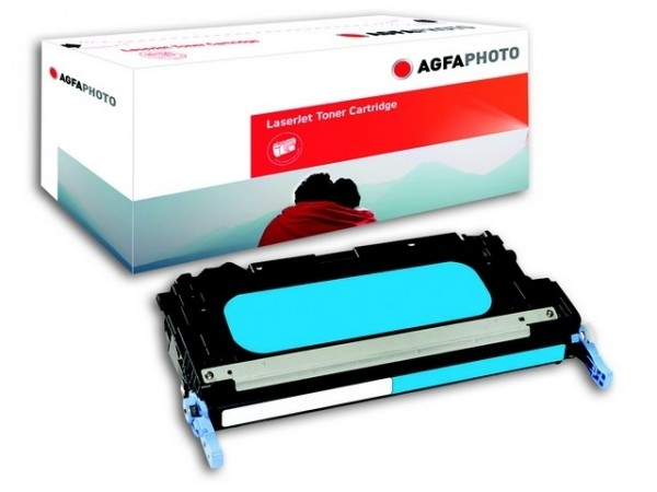 AGFAPHOTO Toner Cyan für HP.CLJ3600 CLJ 3600N THP6471AE