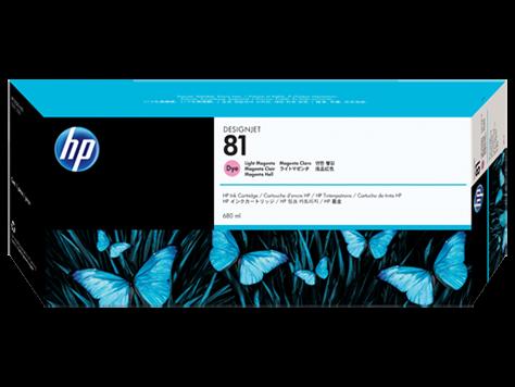 HP 81 Tinte Magenta hell für HP DesignJet 5000 Serie