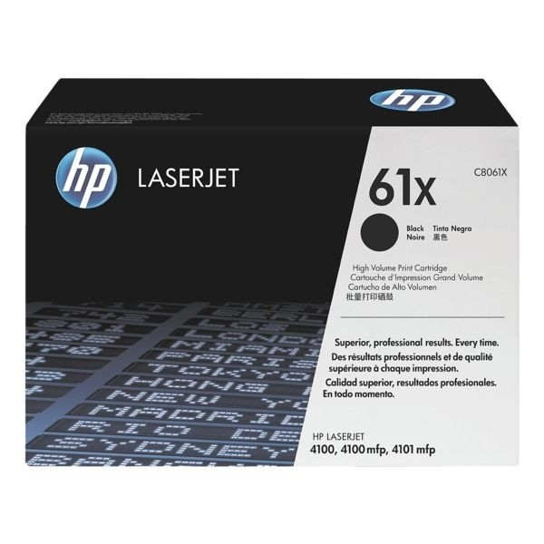 HP 61X Toner HC schwarz für LaserJet 4100 LJ4100TN