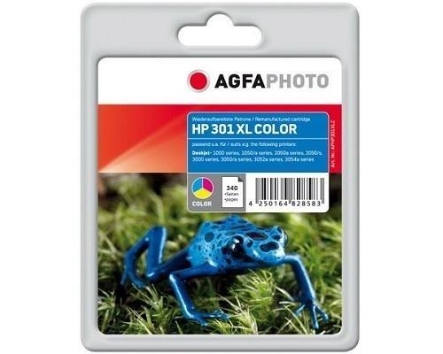 AgfaPhoto Tintenpatrone Color für HP LDJ1000 DJ2050 DL3000