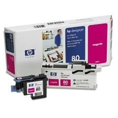 HP 80 Druckkopf Magenta für DesignJet 1050C 1055CM incl. Druckkopfreiniger