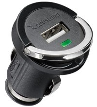 Cabstone USB Lade-Adapter in kompakter BauformAdapter 12V/24V - USB (1200mA)