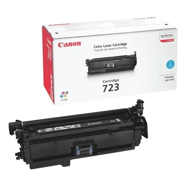 Canon 723 Toner Cartridge Cyan LBP-7750CDN 2643B002